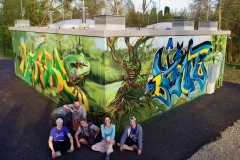 Gemma! Spray-Workshop GreenArt mit SIUZ 2018