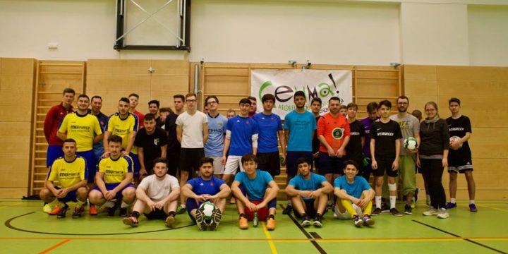 Über 50 Jugendliche aus Tulln und Umgebung nahmen am diesjährigen Gemma! Futsal Cup teil, mit der Devise: Fair Play!
