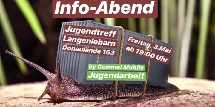 ++ NEUER JUGENDTREFF IN LANGENLEBARN ++ Alle Interessierten sind zum gegenseitigen Kennenlernen eingeladen!